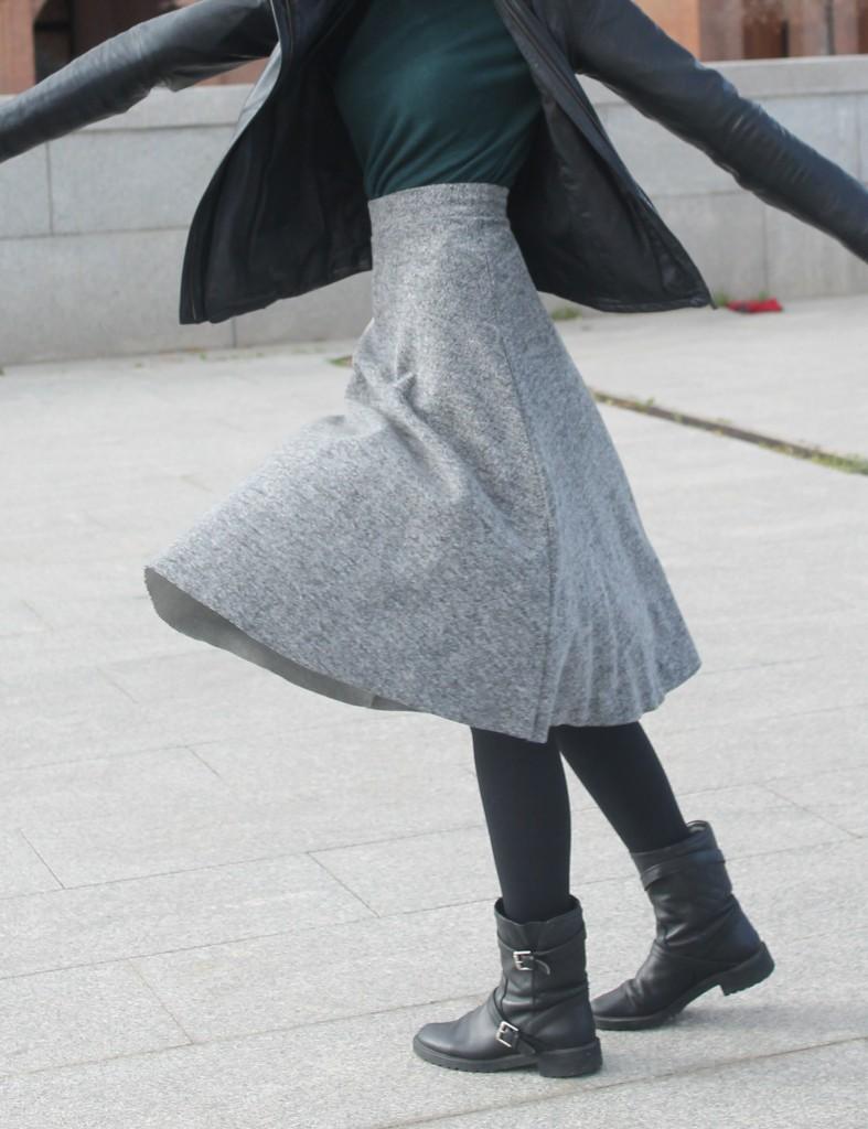 abrigo falda 117